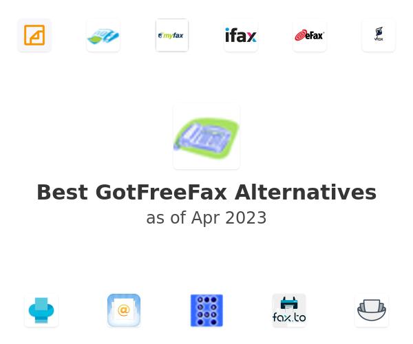 Best GotFreeFax Alternatives