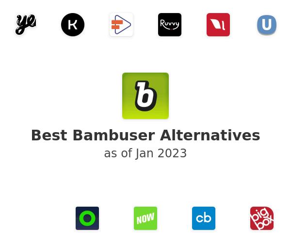 Best Bambuser Alternatives