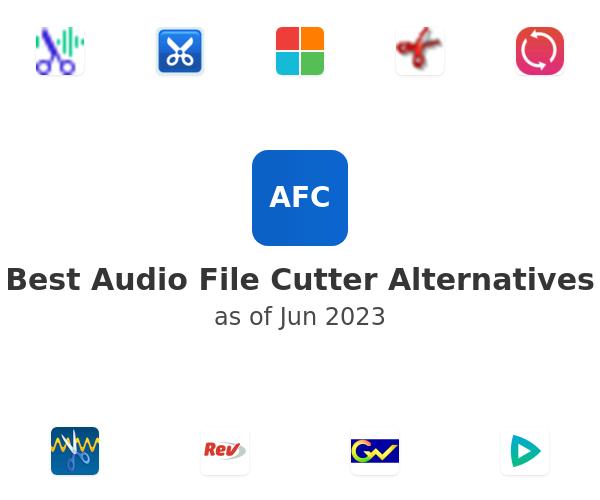 Best Audio File Cutter Alternatives