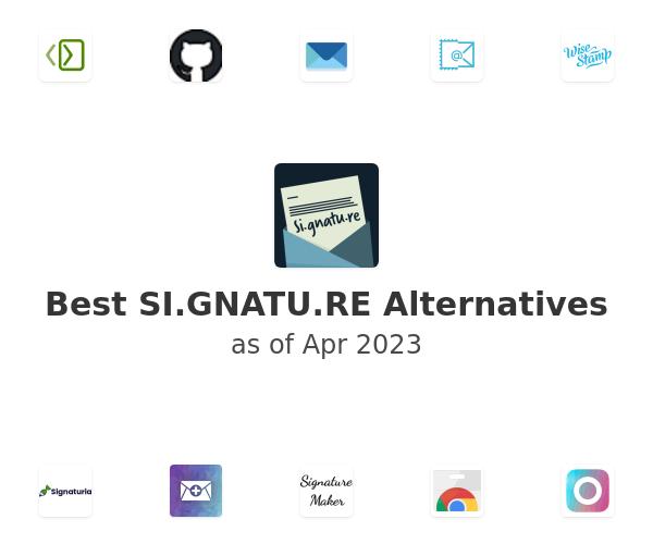 Best SI.GNATU.RE Alternatives