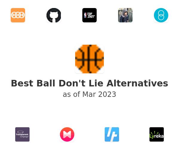 Best Ball Don't Lie Alternatives