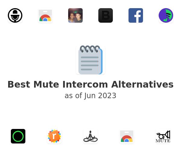 Best Mute Intercom Alternatives