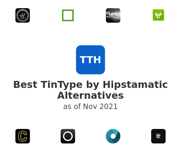 Best TinType by Hipstamatic Alternatives
