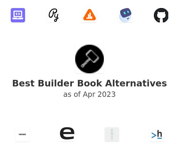 Best Builder Book Alternatives