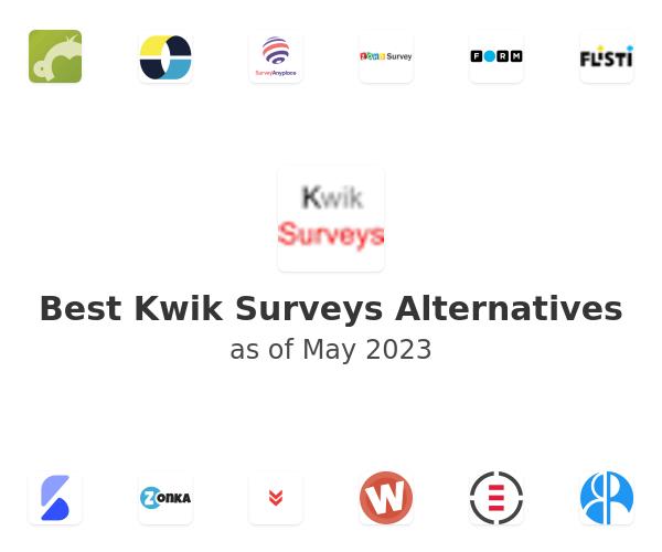 Best Kwik Surveys Alternatives