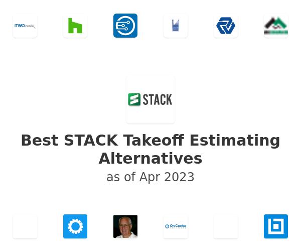 Best STACK Takeoff  Estimating Alternatives