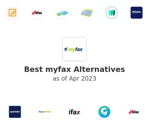 Best myfax Alternatives
