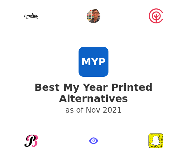 Best My Year Printed Alternatives