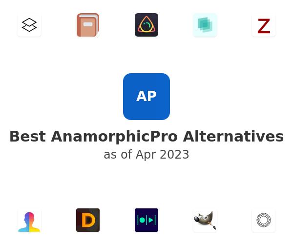 Best AnamorphicPro Alternatives