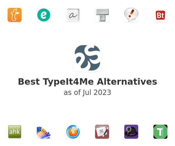 Best TypeIt4Me Alternatives