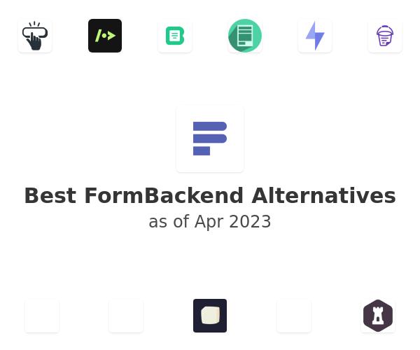 Best FormBackend Alternatives