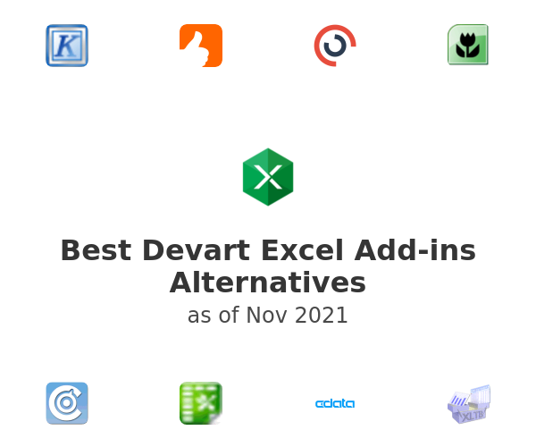 Best Devart Excel Add-ins Alternatives