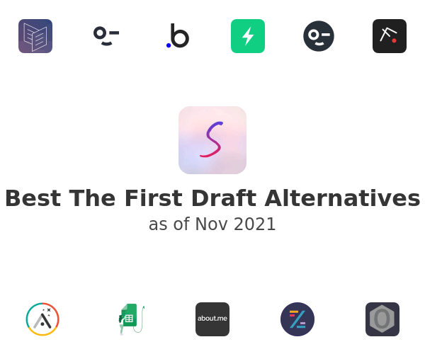 Best The First Draft Alternatives