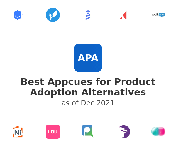 Best Appcues for Product Adoption Alternatives