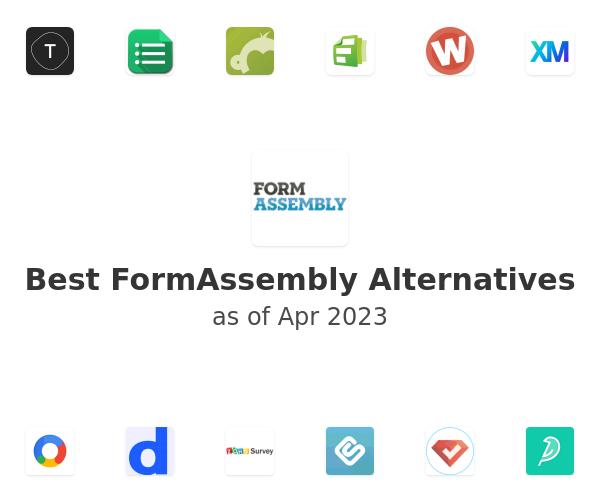 Best FormAssembly Alternatives