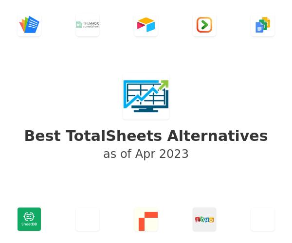 Best TotalSheets Alternatives