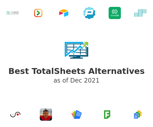 Best TotalSheets Alternatives