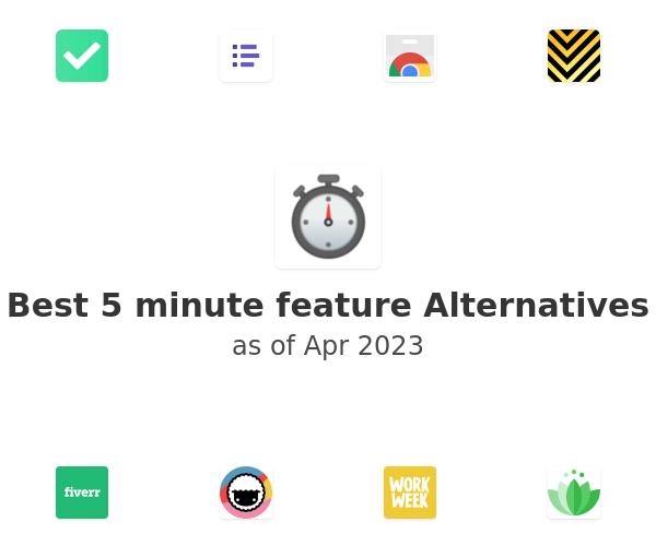 Best 5 minute feature Alternatives