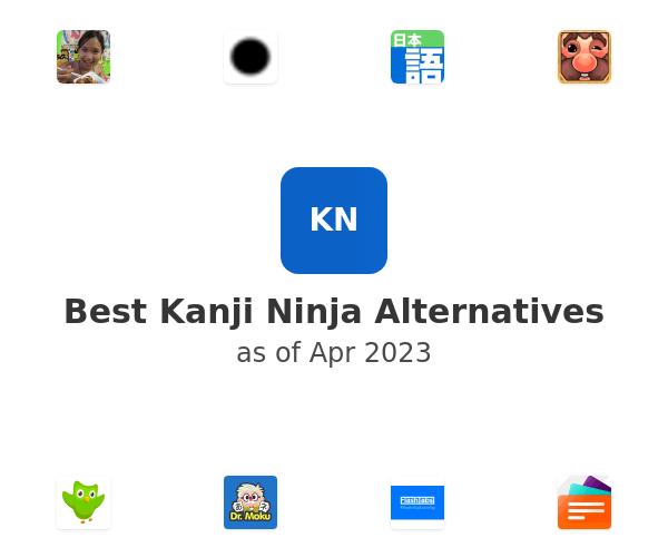 Best Kanji Ninja Alternatives