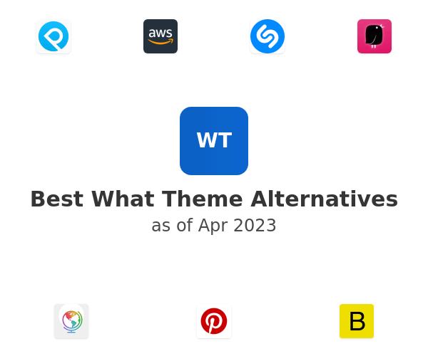 Best What Theme Alternatives