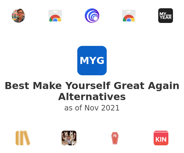 Best Make Yourself Great Again Alternatives