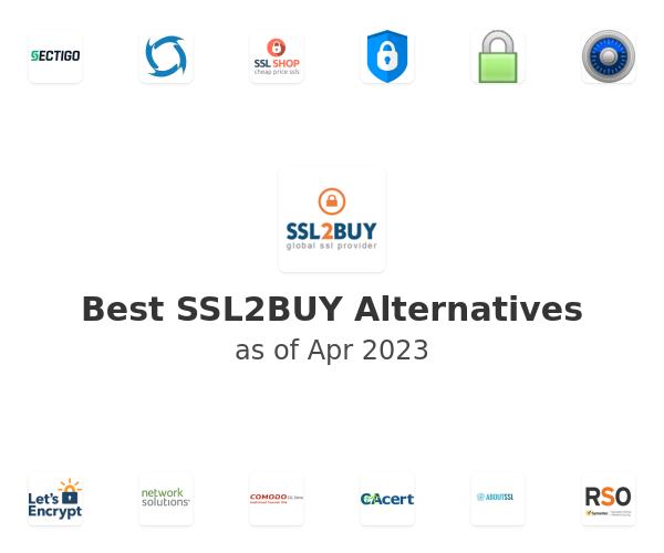 Best SSL2BUY Alternatives