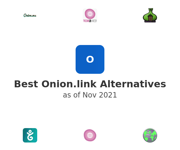 Best Onion.link Alternatives