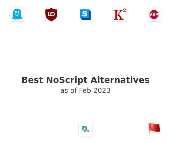 Best NoScript Alternatives