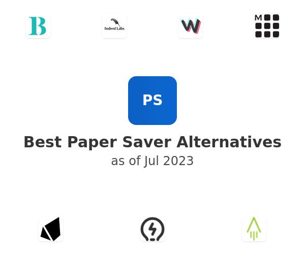 Best Paper Saver Alternatives