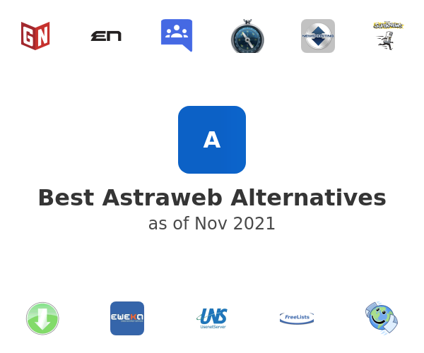 Best Astraweb Alternatives