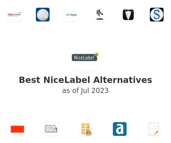 Best NiceLabel Alternatives