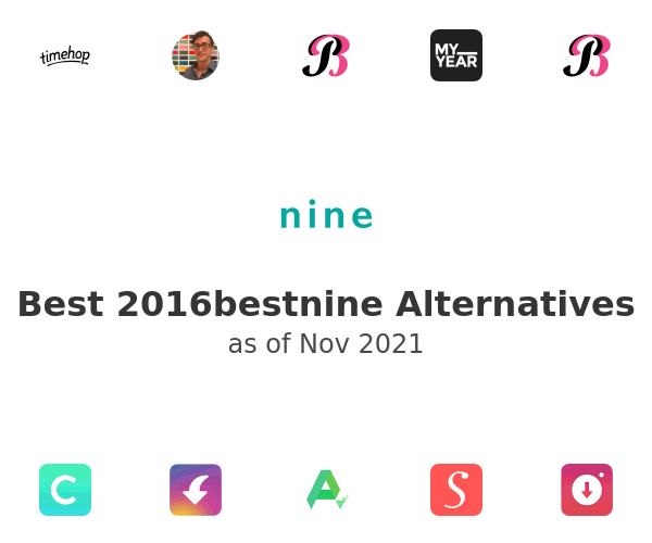 Best 2016bestnine Alternatives