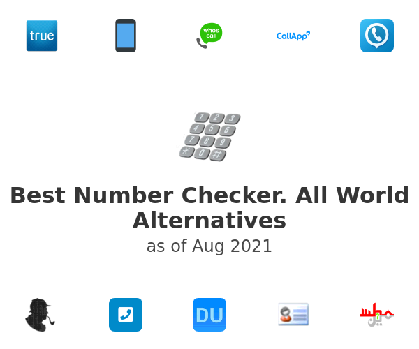 Best Number Checker. All World Alternatives