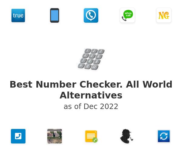 Best Number Checker. All World Alternatives