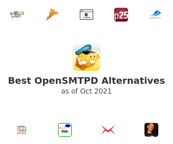 Best OpenSMTPD Alternatives
