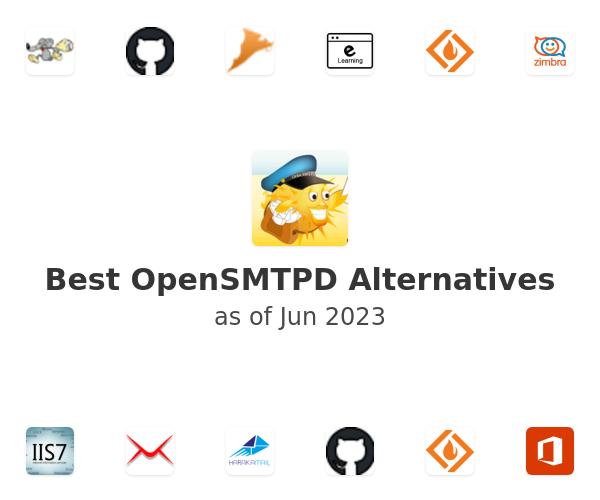 Best OpenSMTPD Alternatives