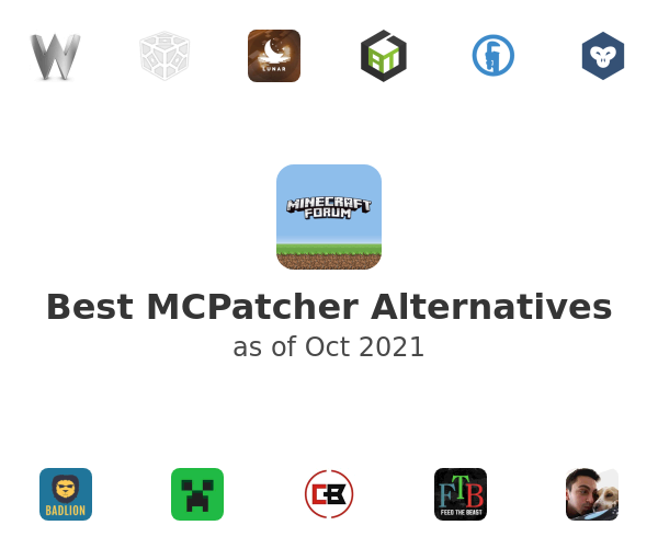 Best MCPatcher Alternatives