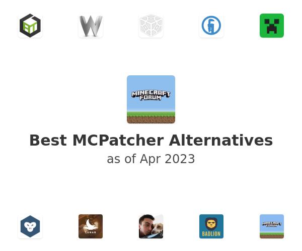 Best MCPatcher Alternatives