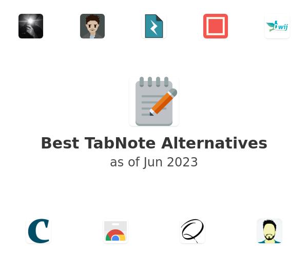 Best TabNote Alternatives