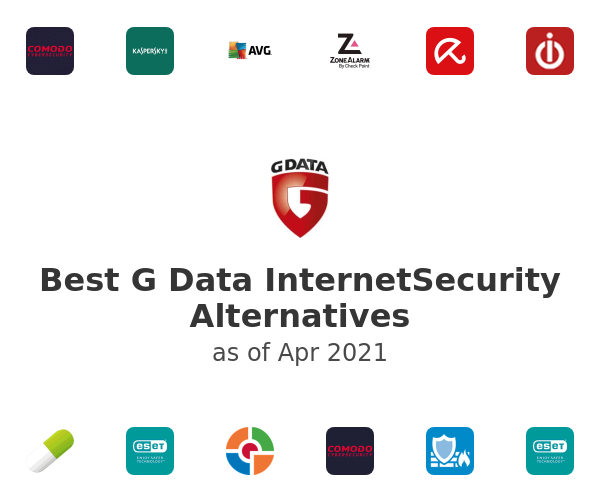 Best G Data InternetSecurity Alternatives