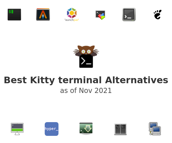Best Kitty terminal Alternatives
