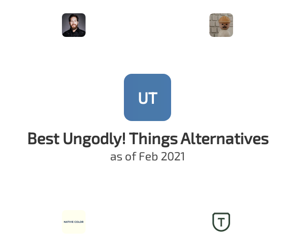 Best Ungodly! Things Alternatives