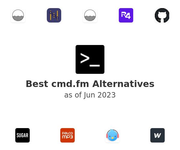 Best cmd.fm Alternatives