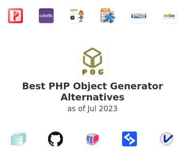 Best PHP Object Generator Alternatives