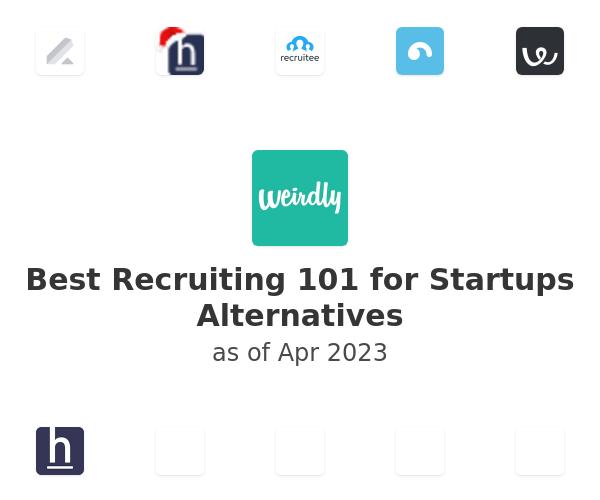 Best Recruiting 101 for Startups Alternatives