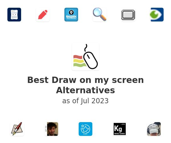 Best Draw on my screen Alternatives