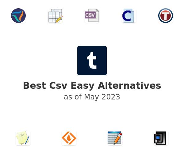 Best Csv Easy Alternatives
