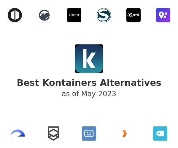 Best Kontainers Alternatives
