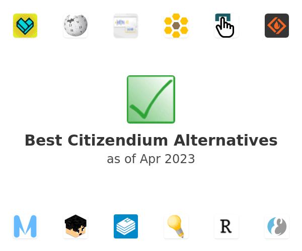 Best Citizendium Alternatives