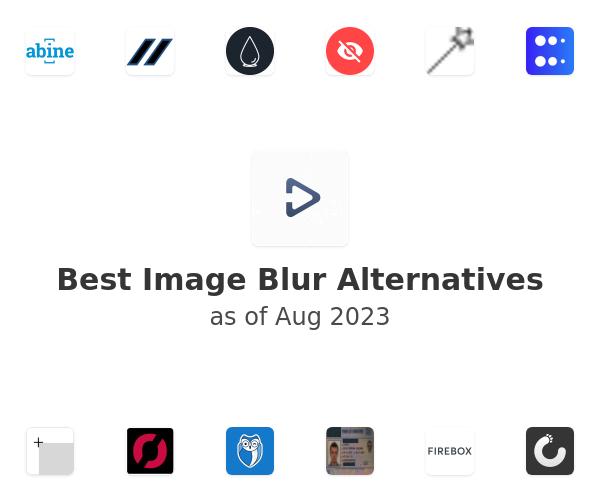 Best Image Blur Alternatives